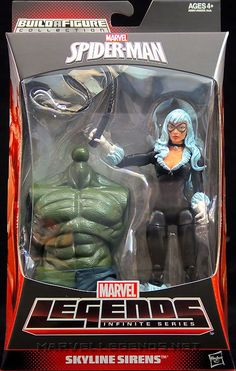 Marvel Legends Ultimate Green Goblin Series Black Cat