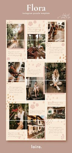 Instagram Feed Theme Layout, Instagram Feed Ideas Posts, Instagram Collage, Instagram Grid, Instagram Frame, Instagram Design, Free Instagram, Instagram Quotes, Instagram Mockup
