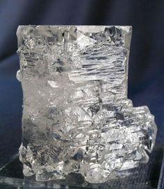 Beryl var. Goshenite, Minas Gerais, Brazil.  Goshenite was first discovered in Massachusetts.