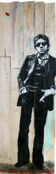 Jef Aerosol_French Artist Gainsbar !