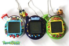 Kitsch Tamagotchi Cyber Pet Necklace by CharmsByIzzy on Etsy, £7.50
