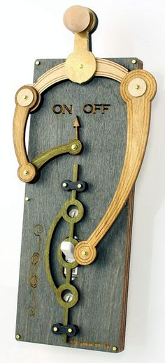 Toggle Light Switch Plate. $44.95, via Etsy.