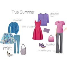 True summer - an excercise, created by silverwild on Polyvore