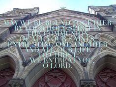 Prayer photo. Bind us together