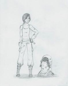 Cinder and Iko by NightmareSiren on DeviantArt