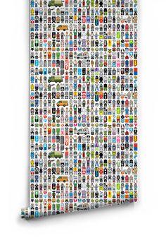Peecol Boutique Wallpaper by Milton & King