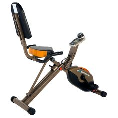 This Exerpeutic Gold 525XLR Folding Recumbent Exercise Bike is one of the strongest entry-level recumbent bicycles on the market with a weight capacity of 400 pounds.