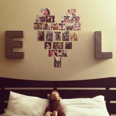 Cute idea for a couples apartment ❤️  #emmyandleo                                                                                                                                                                                 More