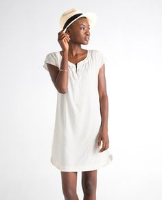 ss17seineyellowfront Sustainable Fashion, Panama Hat, Spring Summer, Shirt Dress, Pretty, How To Make, Shirts, Shopping, Collection