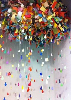 Color Cloud installation by Bonnie Gammill--Sah-weet! - Casual Crafter