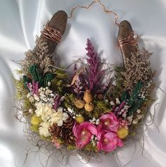 Decorative Horseshoe Housewarming Gift | ... Horseshoe, Horse Decor, Barn Chic,Wedding gift,Housewarming,Good Luck