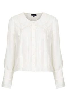 Double Collar Blouse from Top Shop