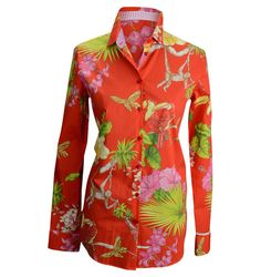 Etro tropical print blouse, $425, Balliets.