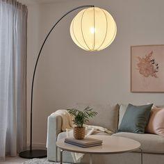 No Ceilings, Floor Lamp Base, Arch Floor Lamp, Black Floor Lamp, Ikea Family, Standard Lamps, Overhead Lighting, Ceiling Lighting, Modern Floor Lamps