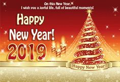 60 Happy New Year 2020 Animated Gif Images (Moving Pics) - Happy New Year 2020 Quotes Wishes Sayings Images Happy New Year Gif, Happy New Year Photo, Happy New Year Images, Happy New Year Greetings, New Year Wishes, New Year Card, Animiertes Gif, Animated Gif, Christmas Facebook Cover