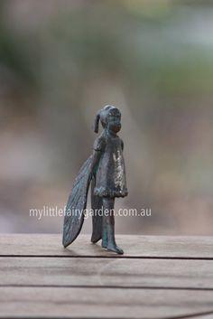 Shari - The Iron Fairies My Little Fairy Garden Fairies, Iron, Garden, Animals, Decor, Faeries, Garten, Animales, Decoration