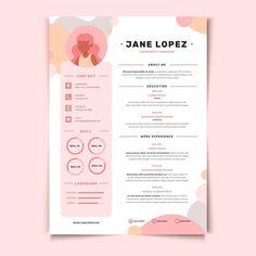 Graphic Resume, Graphic Design Resume, Graphisches Design, Resume Cv, Free Resume, Design Plat, Basic Resume, Resume Format, Resume Design Template