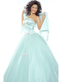 wedding, bridal, dress, gown, satin, fine natting, strapless, beading, ball gown, floor length, prom,