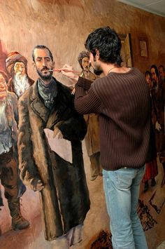 kurdistanart: Artwork painting by Ako Kamal~ Sulaymaniyah south of Kurdistan Kurdistan, My Land, Famous Artists, Online Art, Painters, Jin, Collage, Colours, Logo