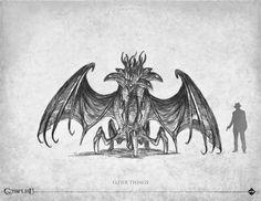 bestiaire Call of Cthulhu edition - Éditions Sans-détour - Chaosium Inc - 2014 Hp Lovecraft, Lovecraft Cthulhu, Art Cthulhu, Call Of Cthulhu Rpg, Lovecraftian Horror, Eldritch Horror, Science Fiction, Pulp, Monster Art