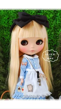 The cutest Blythe doll I've ever seen.