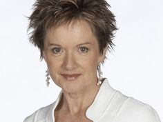 Jackie Woodburne As Susan The Wife Of Karl Kennedy Jackie Once Sent Me Her Fancard