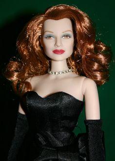 My limited edition Rita Hayworth as Gilda doll was produced in 2000 as a fundraiser with Princess Yasmin Aga Kahn for the Alzheimer's Association. She is pretty spectacular.