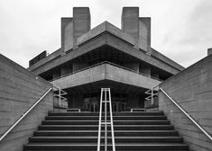 National Theatre 4, South Bank, London, Denys Lasdun, 1967-76 Photo: Simon Phipps