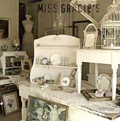LOVE HER WORK! base..white storage chest 2nd crates with board on top backdrop..trellis..secure