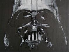Darth Vader - oil on canvas - 120 x 90