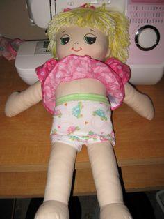 How to Make Doll Underwear