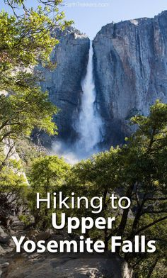 How to hike to Upper Yosemite Falls and continue to Yosemite Point so you can one of the best views of Half Dome. This is one of the best hikes in Yosemite. Yosemite Sequoia, Yosemite Falls, Yosemite Hiking, Us National Parks, Yosemite National Park, Camping World Locations, Camping In England, Rv Parks And Campgrounds, Oregon Waterfalls