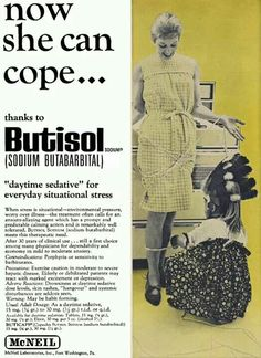 A Brief History of Benzodiazepines - Benzodiazepine Information Coalition Old Advertisements, Retro Advertising, Retro Ads, Vintage Humor, Vintage Posters, Funny Vintage Ads, Pseudo Science, Vintage Medical, Medical History