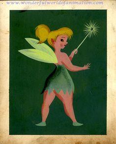 Concept piece from Disney Studios Peter Pan (1953)