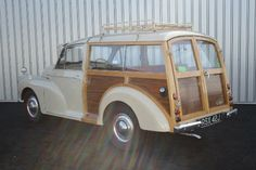 1970 Morris Minor Traveller veneered panels. Lovely. orry about the quality of the image, from ebay!