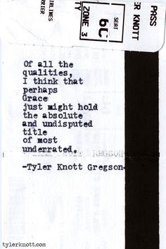 Typewriter Series #432 by Tyler Knott Gregson
