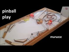 Pinball Wizard, Table Games, Wooden Diy, Bath Caddy, Arcade, Homemade, Play, Youtube, Video Games