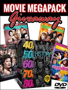 Mega Movie Pack Giveaway {ends 04/21} - Tales From A Southern Mom
