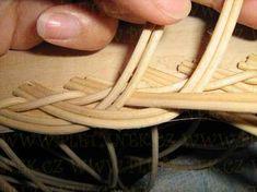 OPLET DNA MIRAHELKA – pletynek – album na Rajčeti Rattan, Rolled Paper, Weaving Patterns, Basket Weaving, Dna, Bamboo, Projects To Try, Crafts, Apples