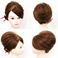 in 2020 Hair Arrange, Hair Dos, Updos, Cool Hairstyles, Kimono, Hair Beauty, Hair Styles, Wedding, Beautiful