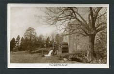 Crieff Perthshire - The Old Mill RP c1950 | eBay