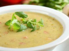 Česneková polévka s bůčkem