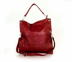 """Vegan """"leather"""" handbag by tracce bags, $74.25"""
