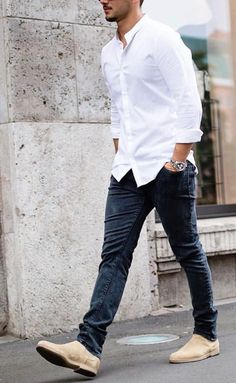 How To Wear Casual Shirt For Men, Casual Street Style Men. We all love  wearing casual shirts, right? A casual shirt is comfortable, easy to  maintain and if ...