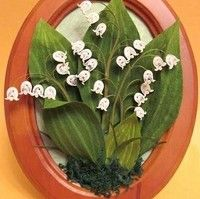 quilled lily of the valley