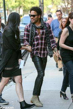 Lenny Kravitz looked hotter than ever when he hit the streets of NYC on Thursday.