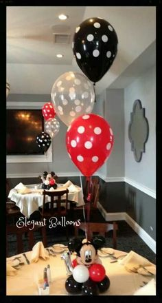 Wanna do these but with Sesame Street Mickey Mouse Balloons, Fiesta Mickey Mouse, Mickey Mouse Decorations, Mickey Mouse Parties, Mickey Party, Mickey 1st Birthdays, Mickey Mouse First Birthday, Mickey Mouse Clubhouse Birthday Party, 2nd Birthday