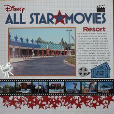 Disneys All Star Movies. - Scrapbook.com