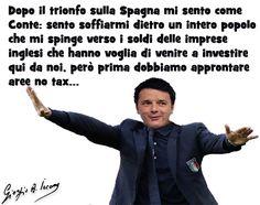 Renzi come Conte: si sente soffiare da dietro