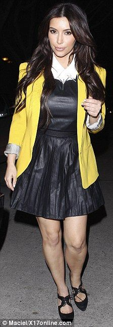 Yellow Coat - Kardashian